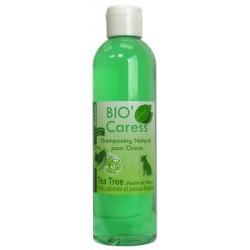 Shampooing Bio'Caress Poils Abimés et Peaux Fragiles (Tea Tree)