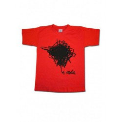 Tee-shirt enfant Et merde - logo Noir