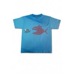 Tee-shirt enfant Poissons unis
