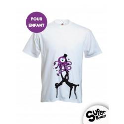 Tee-shirt enfant Pieuvre INK