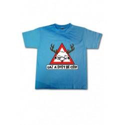 Tee-shirt enfant Gaz à effet de cerf