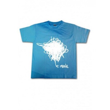 Tee-shirt enfant Et merde - logo blanc