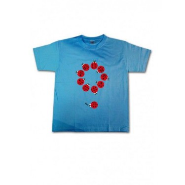 Tee-shirt enfant Coccinelles dominos
