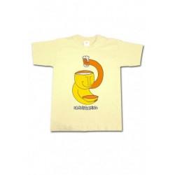 Tee-shirt enfant Bonhomme jaune Brainstorming