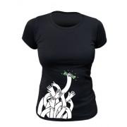 Tee-shirt bio Femme Argent