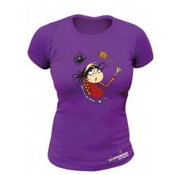 Tee-shirt bio Femme Chasser les idées noires
