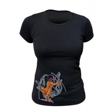 Tee-shirt bio Femme Danser chaque jour