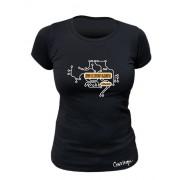 Tee-shirt bio Femme Demain se construit aujourd'hui