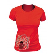 Tee-shirt bio Femme Echo de notre pensée