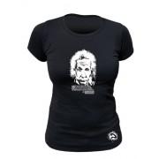 Tee-shirt bio Femme Einstein