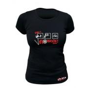 Tee-shirt bio Femme Vive la Velorucion
