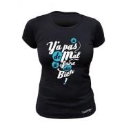 Tee-shirt bio Femme Y'a pas de mal à se faire du bien !