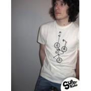 Tee-shirt bio Homme Sur le fil
