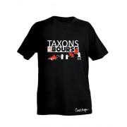 Tee-shirt bio Homme Taxons la bourse